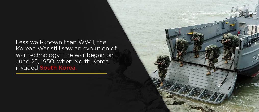 Korean war landing craft