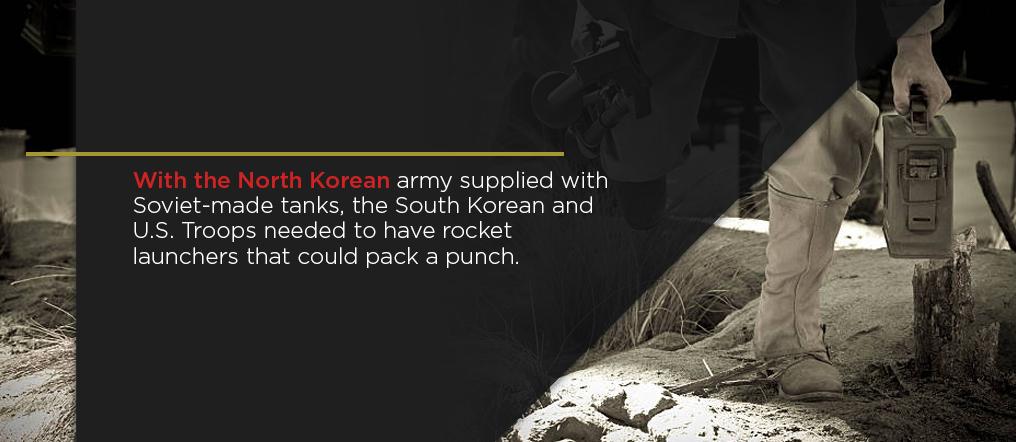Korean war weapons
