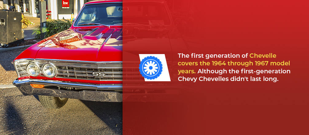 first generation chevy chevelle
