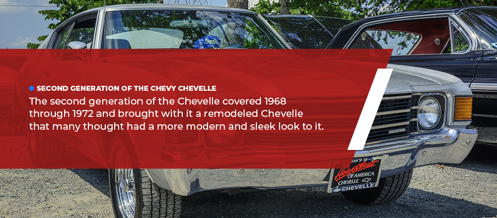 second generation chevy chevelle