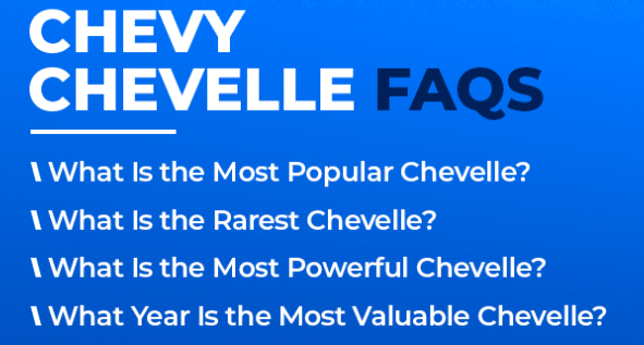 FAQs about the Chevy Chevelle