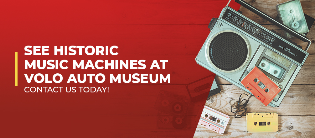 Historic music machines at Volo Museum