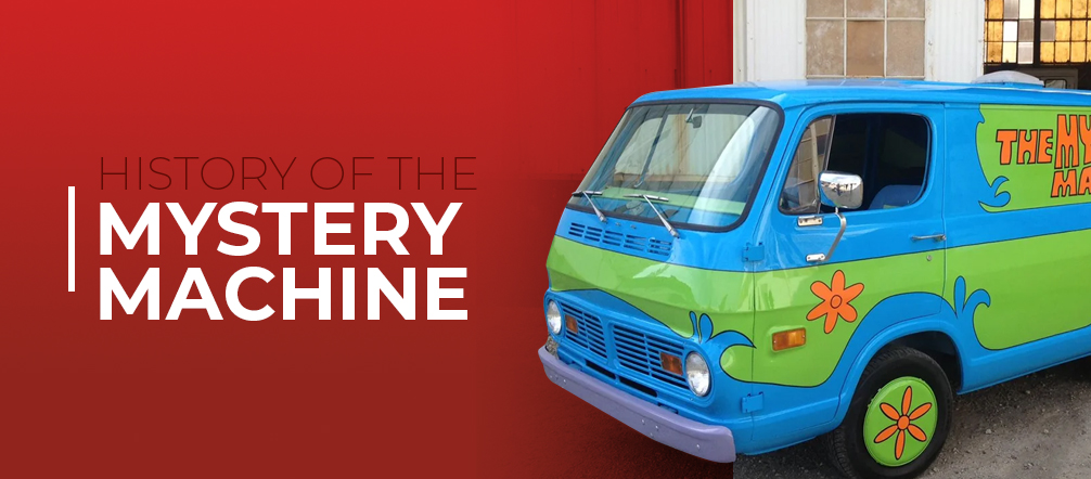 The history of the mystery machine