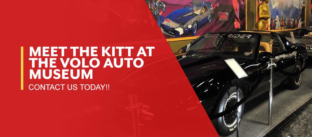 Meet the KITT car at the museum