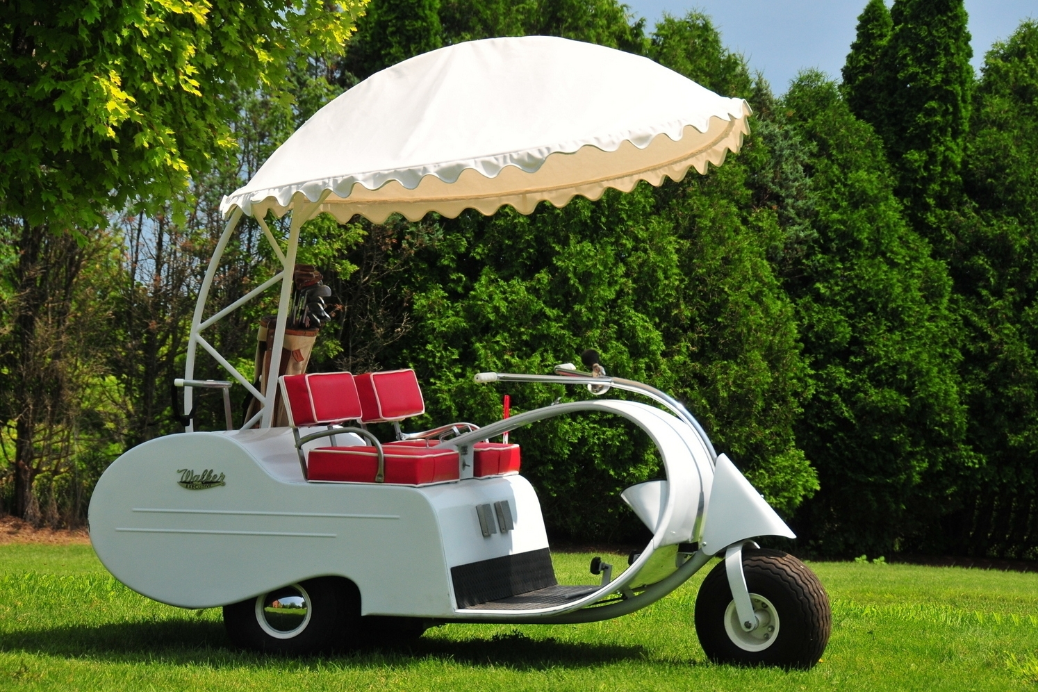 walker golf cart
