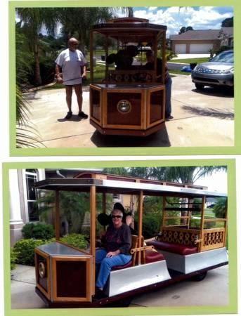Disney trolley