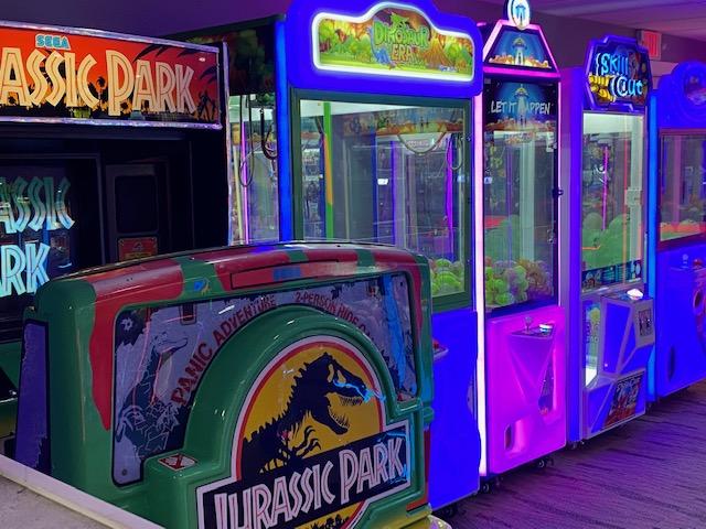 Jurassic Gardens Arcade