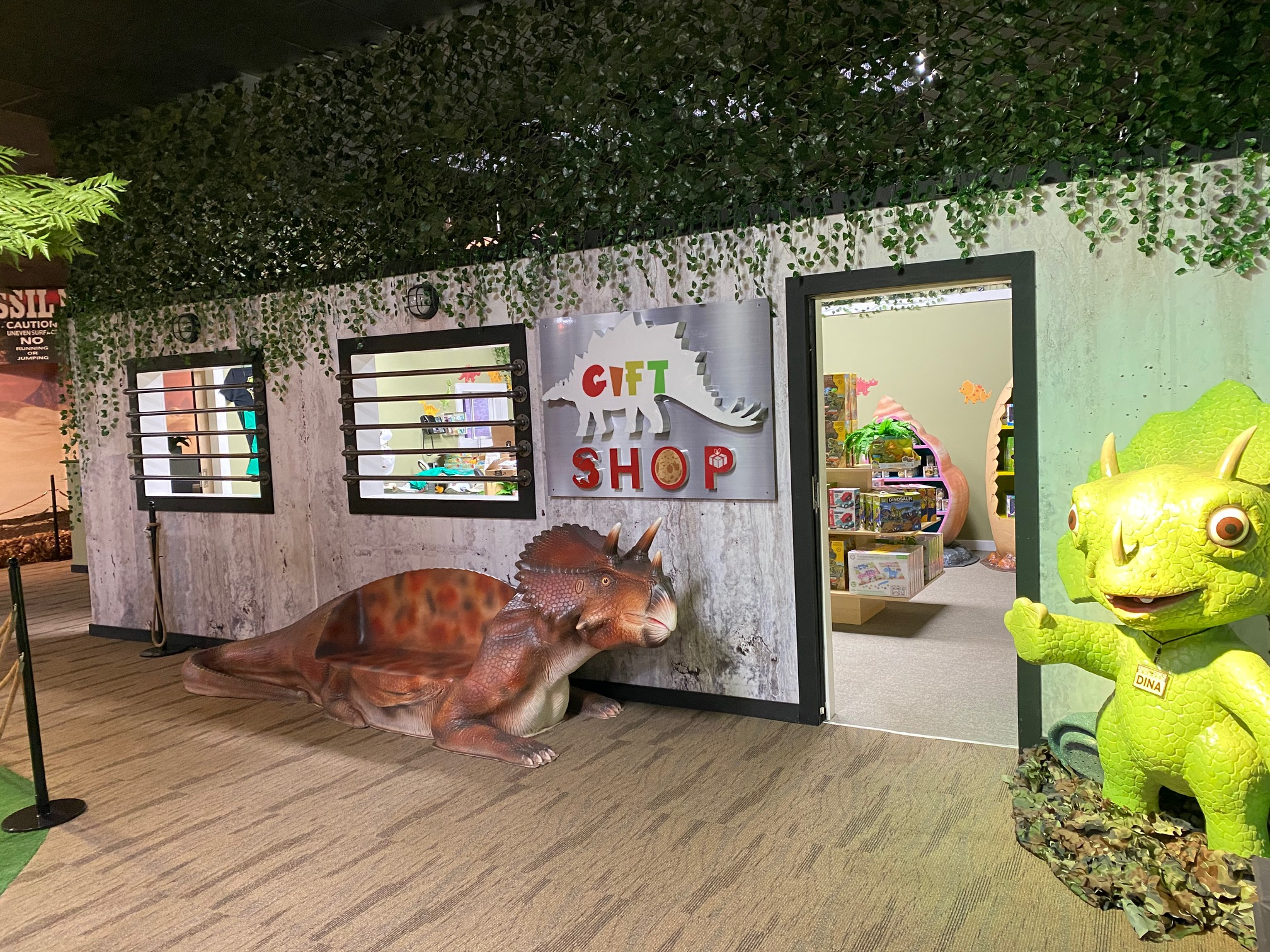 Jurassic Gardens Gift Shop