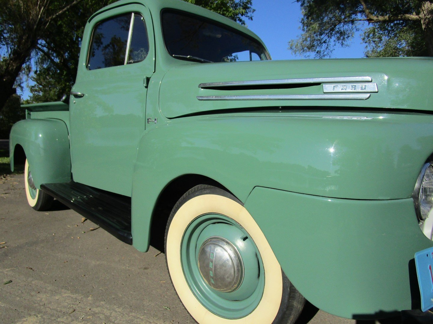 1950 Ford F1 Pickup Truck For Sale 107879 Mcg To 1953